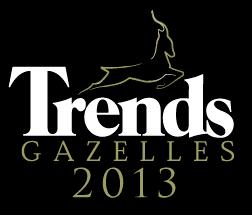 Le classement des gazelles 2013 de Trends-Tendance