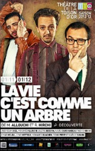 """La troupe du spectacle """"La vie c'est comme un arbre"""" élue Bruxellois de l'année 2012"""