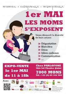 """Les """"mompreneurs"""" s'exposent le 1er mai"""