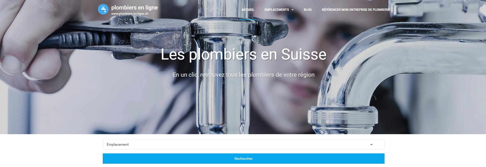 Tous les plombiers à Genève : Plombiers-en-ligne.ch