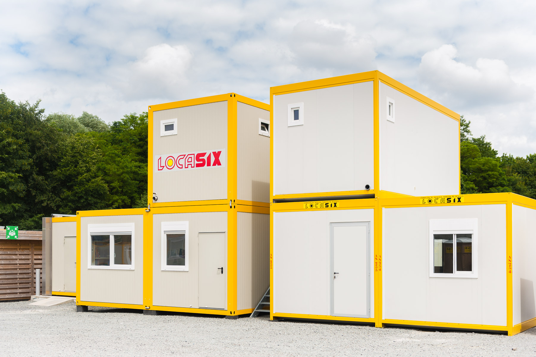Locasix location de modules containers et g n rateurs for Location container habitable