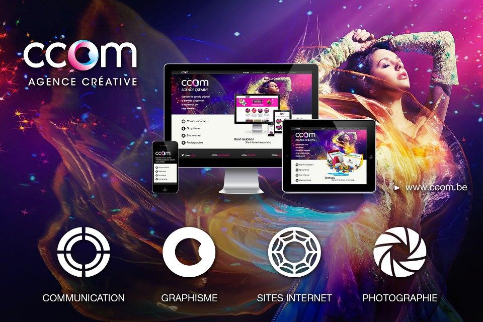 Ccom : entreprise spécialisée dans la création d'identités visuelles