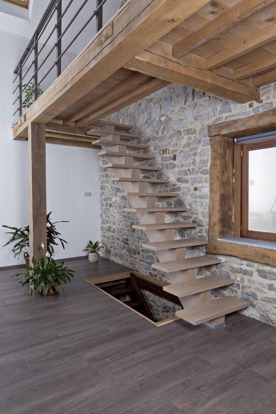 SOGEM : des escaliers en kit, facile à monter, de la cave au grenier