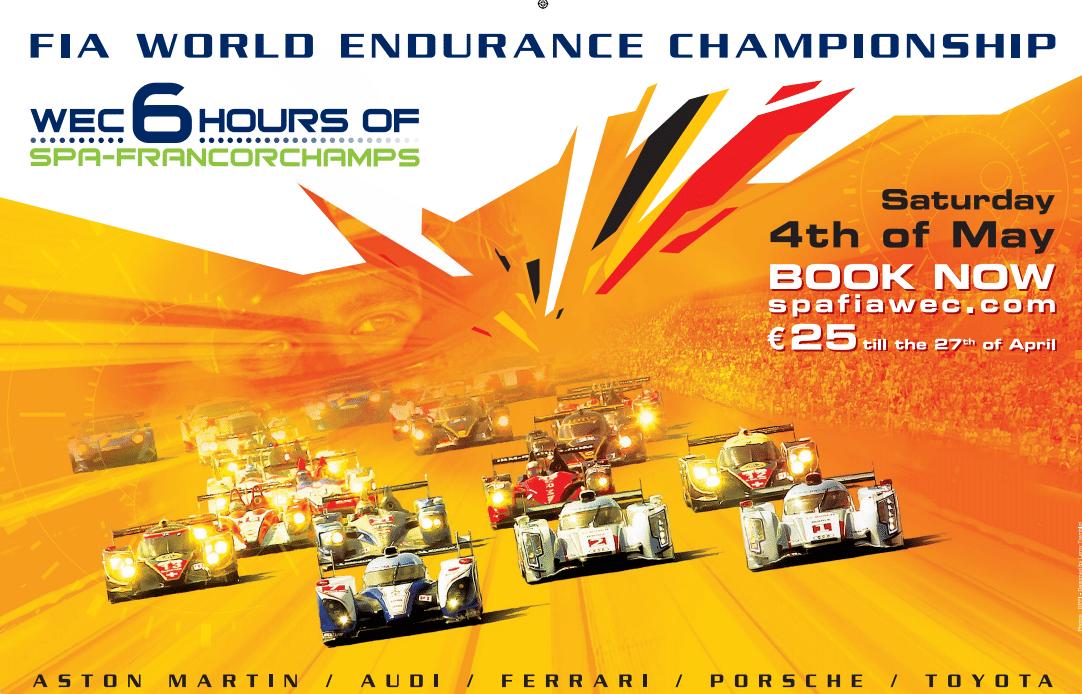 6 heures de Spa-Francorchamps : 80 places à gagner