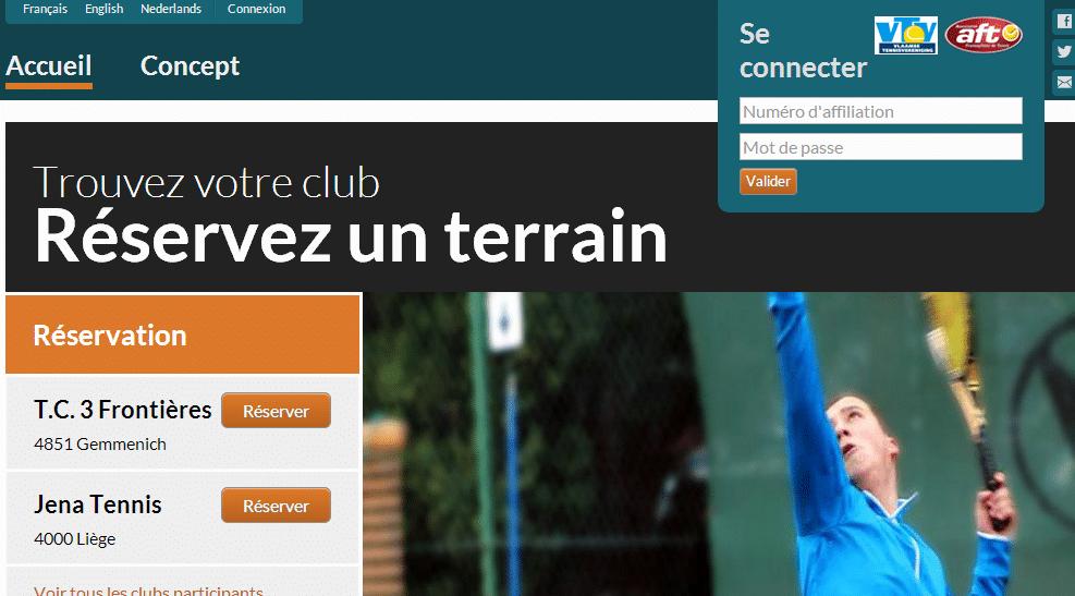 Réservez votre terrain de tennis en ligne avec TennisOnline