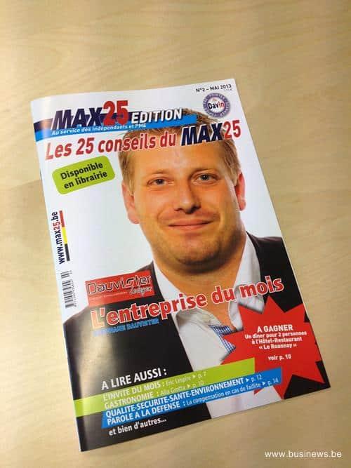 Max25 Edition : le magazine des indépendants et des PME
