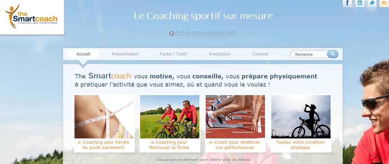 The Smartcoach, une plateforme web proposant des programmes sportifs