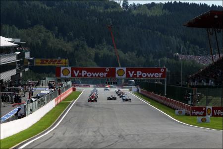 Spa-Francorchamps : le Grand Prix de Formule 1 les 23, 24 et 25 août 2013