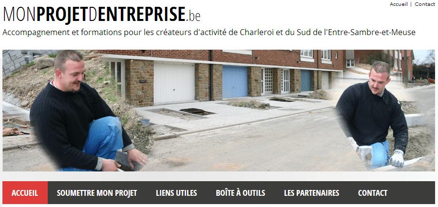 Monprojetdentreprise.be : accompagner les projets d'entreprises à Charleroi