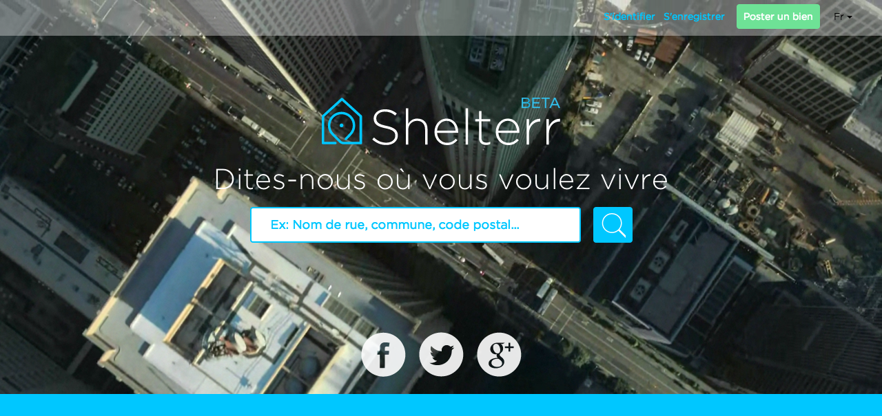 Shelterr annonce le lancement prochain de son application mobile