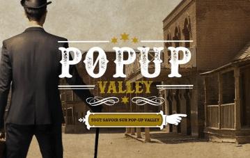 Le Salon PopUp Valley le 18 juin 2015 à Liège
