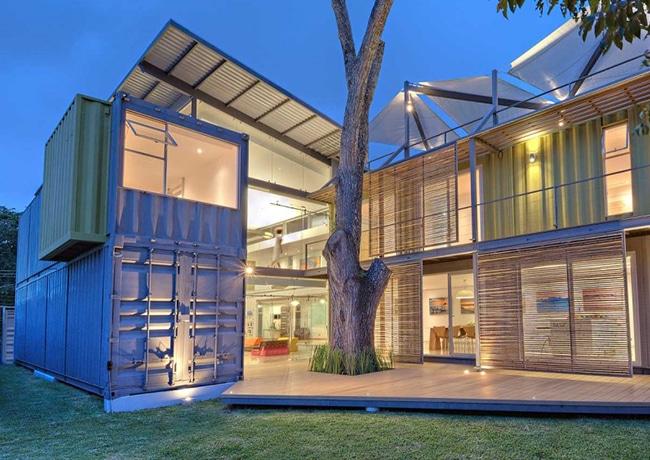 La maison container : une réelle innovation immobilière ?