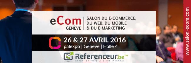 Salon eCom de Genève : les 26 & 27 avril 2016