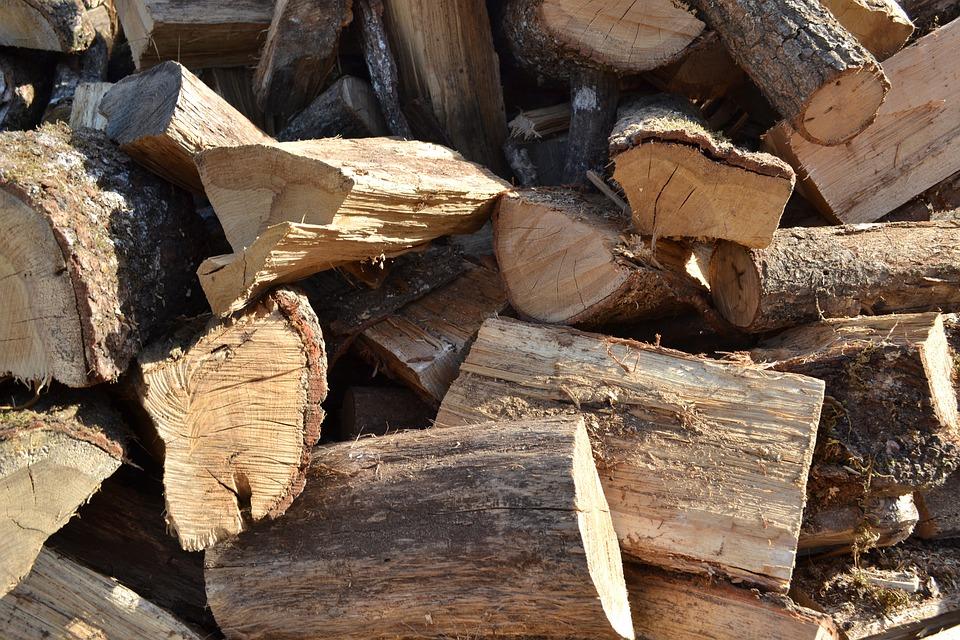 Le bois bûche répond au froid