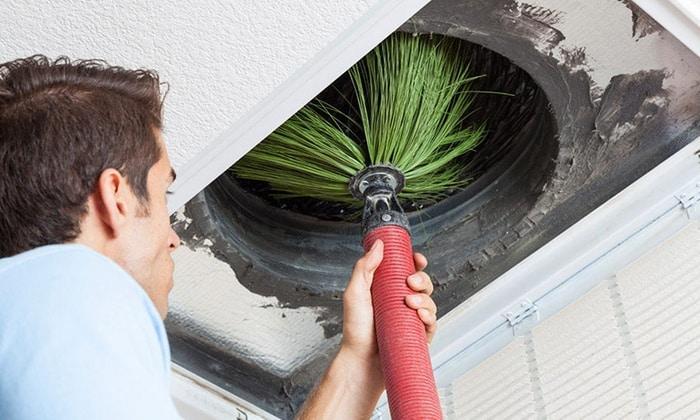 Service de nettoyage de ventilation VMC