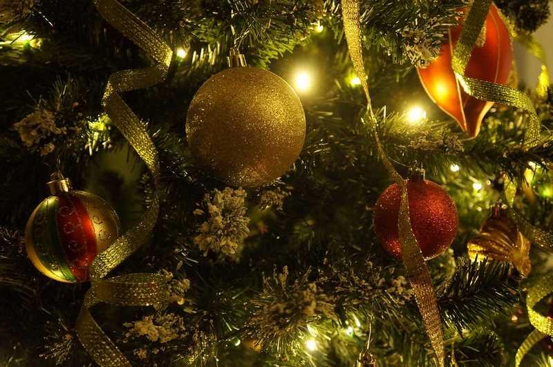 Des lumières écologiques comme décoration de Noël
