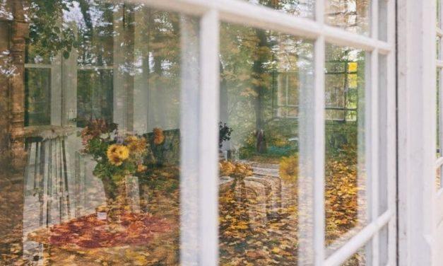 Une véranda en automne