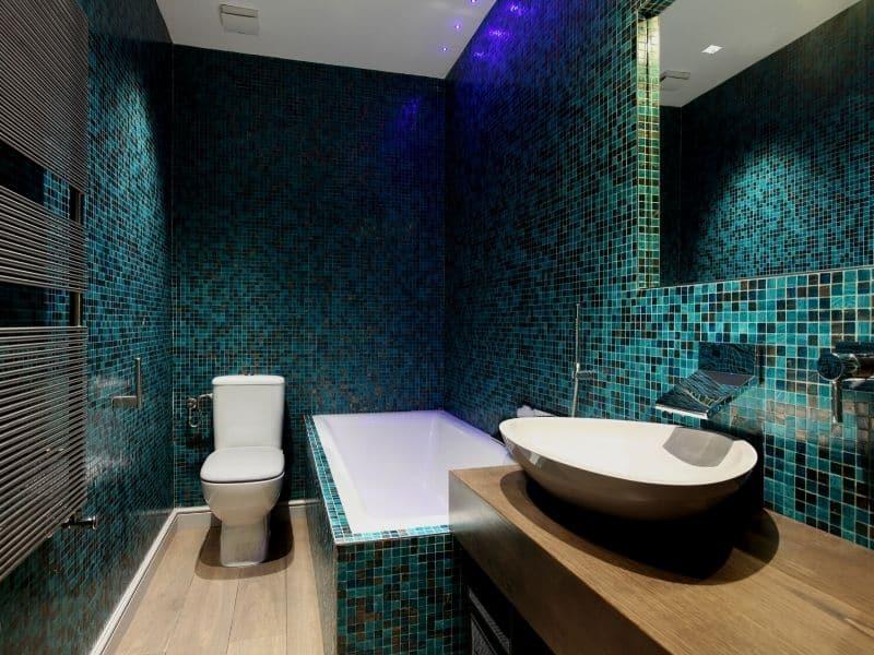 Le carrelage mosaïque : idéal pour la salle de bain
